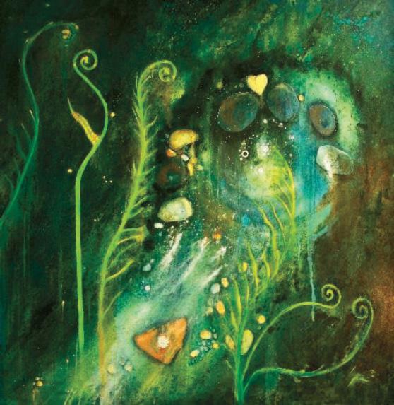 The living spring, cerne abbas